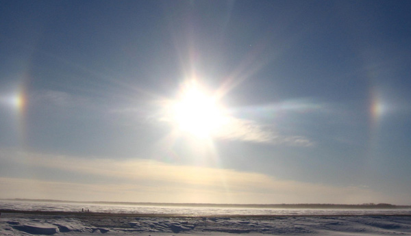 Pictures of Sun Dogs