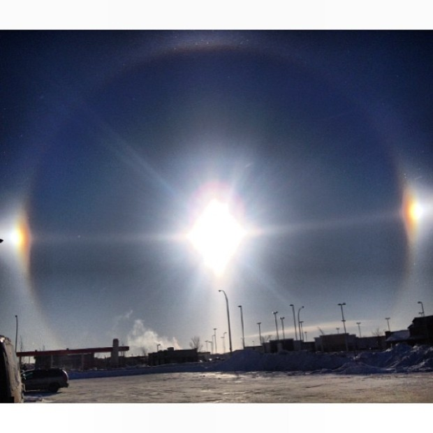 Pictures of Sun Dogs - Instagram User - anessaeckert