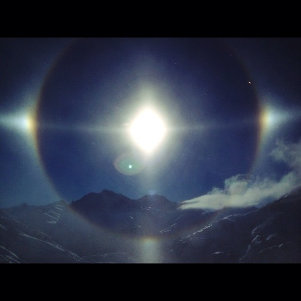 Pictures of Sun Dogs - Instagram User - angelicaaskvik