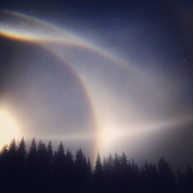 Pictures of Sun Dogs - Instagram User - fall3nangel87
