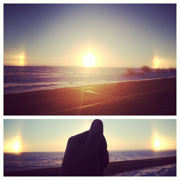 Pictures of Sun Dogs - Instagram User - franksmith