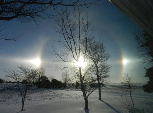 Pictures of Sun Dogs - Instagram User - heyd50