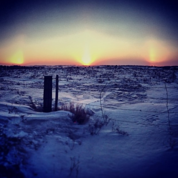 Pictures of Sun Dogs - Instagram User - j_m_henderson