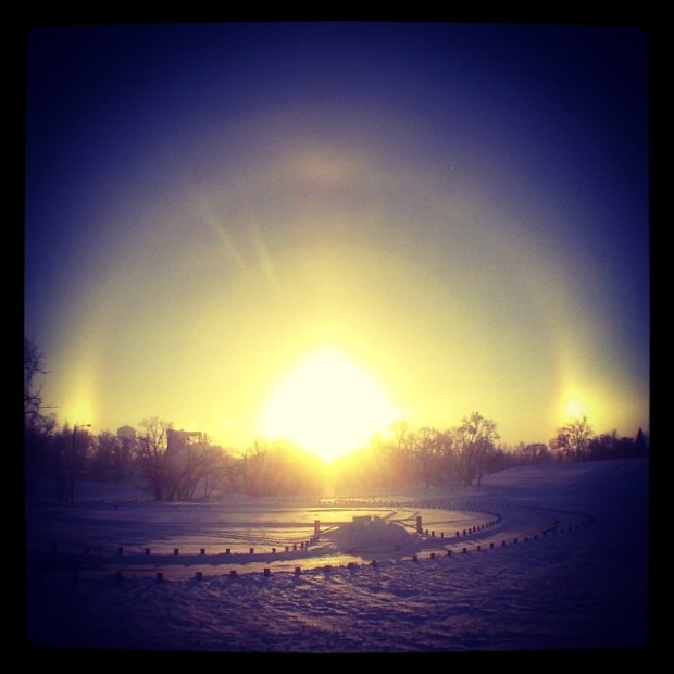 Pictures of Sun Dogs - Instagram User - johnborge