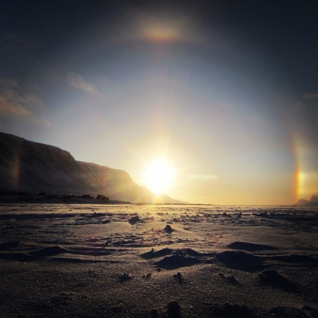 Pictures of Sun Dogs - Instagram User - pumori