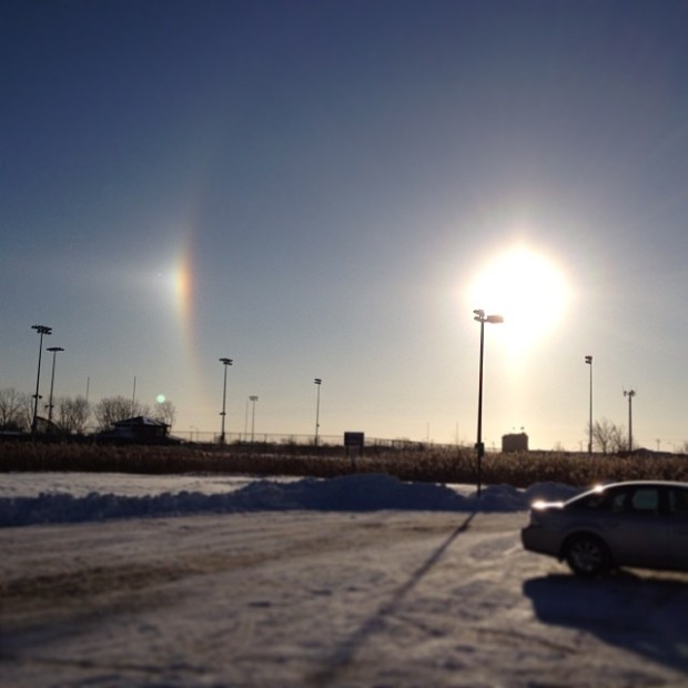 Pictures of Sun Dogs - Instagram User - rebecca1z1