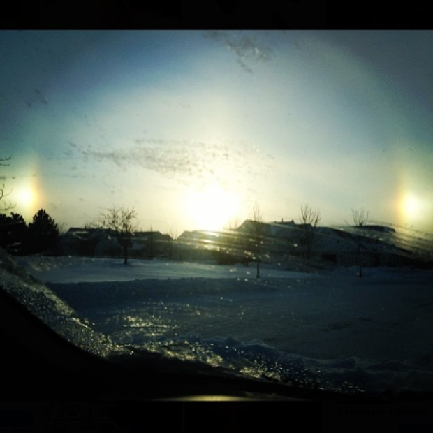Pictures of Sun Dogs - Instagram User - ryanluciani
